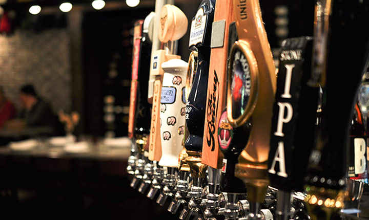 24 Beers on Tap, 75 Selections by the Bottle at The Bird and The Bread